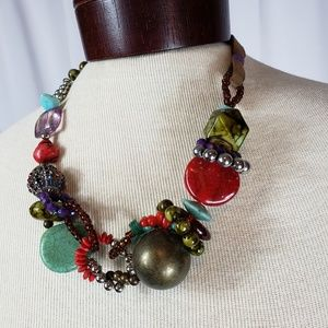 Jewelry - Unique Chunky Statement Necklace